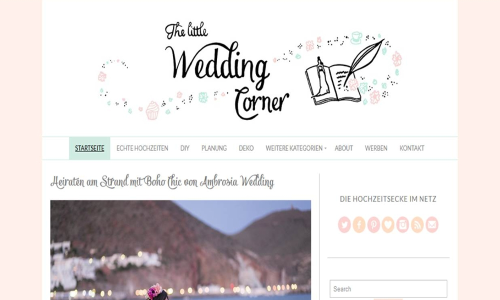 "Bloggerwahn: ""The Litte Wedding Corner"" Im Interview"